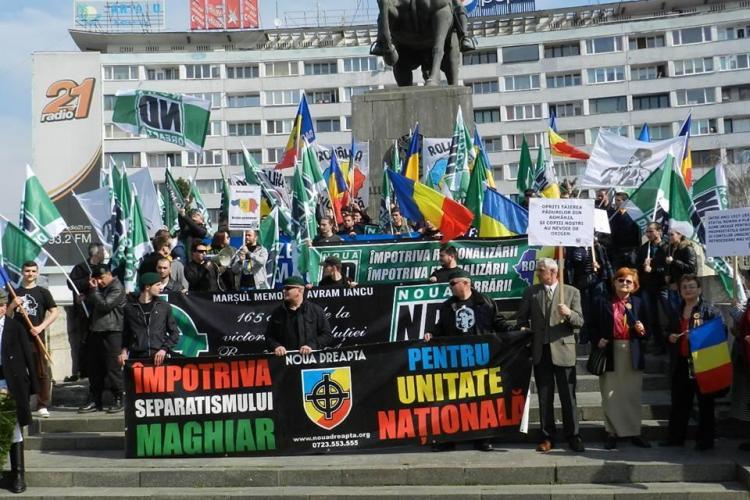 Marșul lui Iancu în 12 martie la Cluj-Napoca
