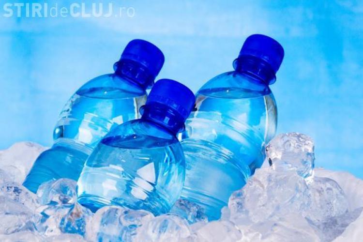Mai multe tipuri de apă de masă îmbuteliată depistate cu germeni, mult peste limita admisă