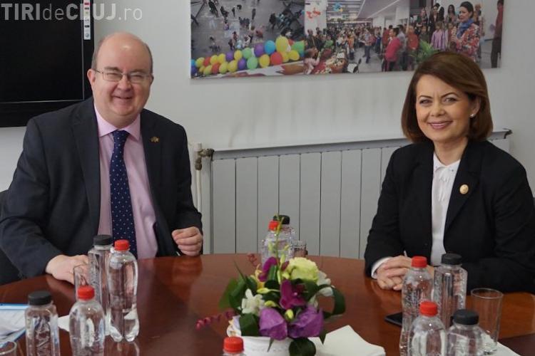 Marea Britanie deschide la Cluj prima filială a Camerei de Comerț româno-britanice