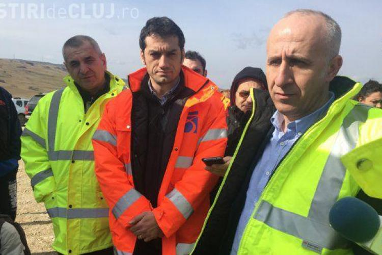 Termenele de finalizare a Autostrăzii Transilvania sunt din nou în pericol