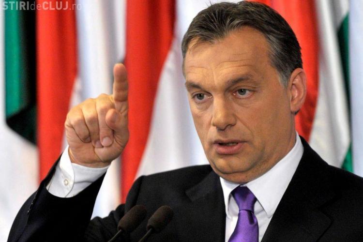 Viktor Orban: Ungaria va construi un gard la graniţa cu România