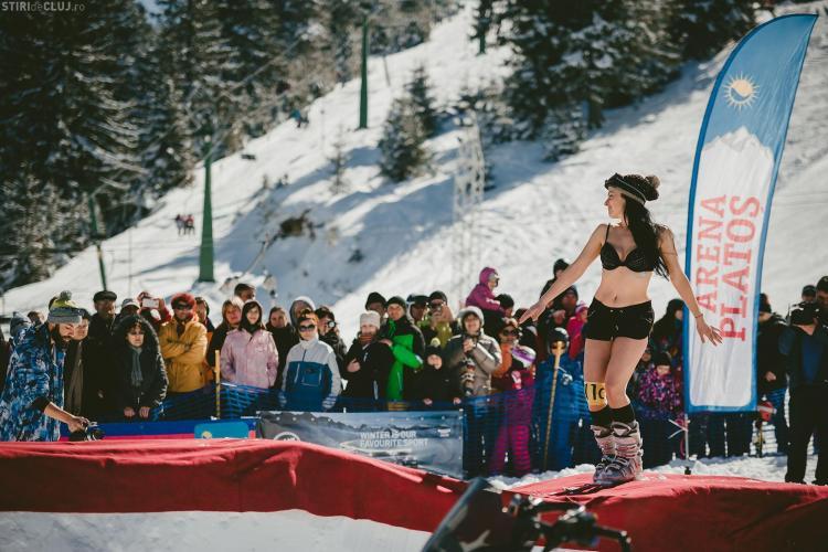 Bikini Race închide sezonul de schi de la Arena Platoș