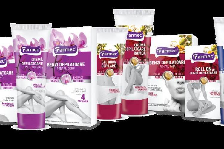 O piele fină în doar trei minute cu noile produse depilatoare de la Farmec (P)