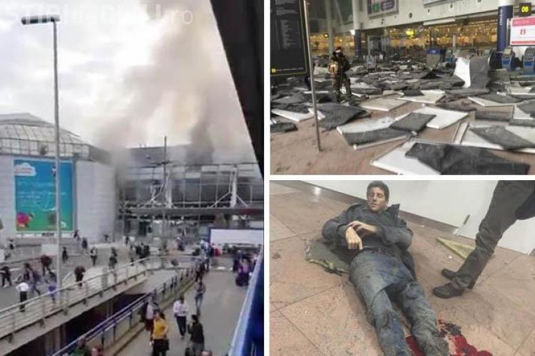 O clujeancă a fost în Aeroportul din Bruxelles: Supravietuitorii răniți, unii fara membre, si panica nu vor fi usor de uitat