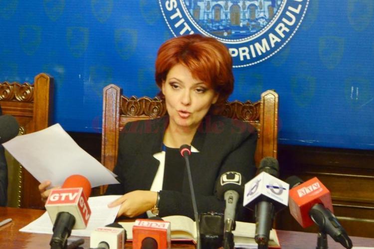 Olguța Vasilescu, primarul Craiovei, reținută de DNA. În trecut a fost în contre dure cu Clujul