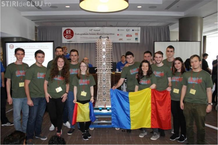 Studenții de la UTCN au ÎNVINS cele mai mari universități din lume la un concurs de design SEISMIC