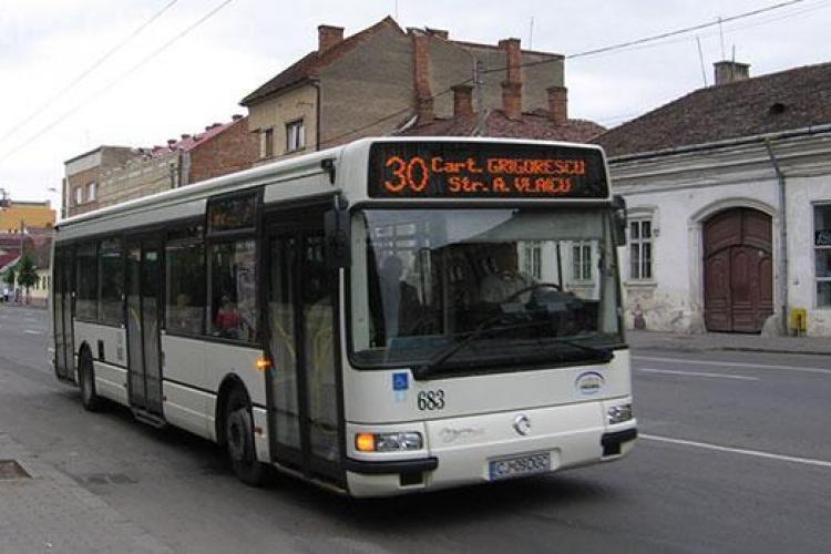 Autobuzul 30 nu va circula pe același traseu în următoarele zile