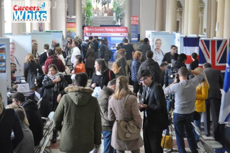 Târg de job-uri pentru personalul medical. Companiile din străinătate vor medici de la Cluj
