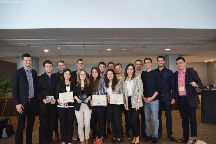 O echipă de studenți de la Cluj a luat locul I în cadrul Concursului de Design Seismic din San Francisco FOTO/VIDEO