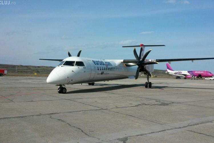 Cursa aeriană care leagă Clujul de SUA a fost inaugurată FOTO