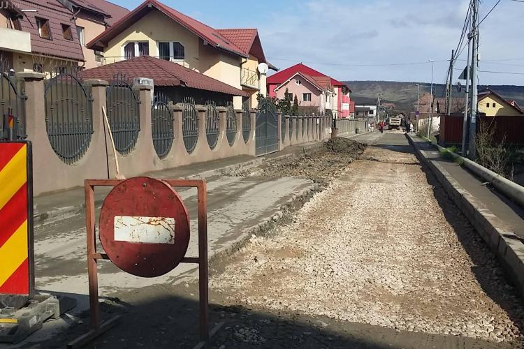 Strada Cetății din Florești va fi terminată în mai puțin de 2 săptămâni. Ce drum AJUTĂTOR există