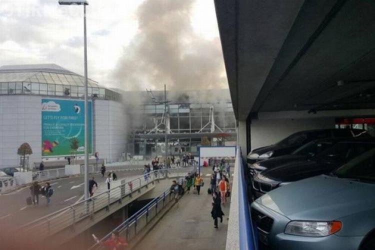 EXPLOZII la Aeroportul din Bruxelles. Sunt cel puțin 31 de morți. Fiica antrenorului Mircea Rednic a fost martor - VIDEO