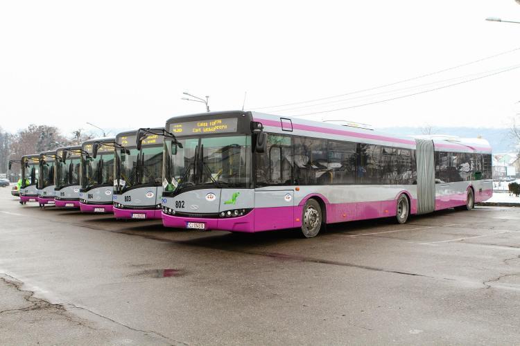 Cum vor circula autobuzele în perioada Maratonului International Cluj-Napoca
