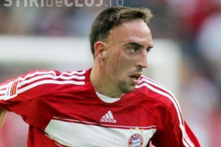 Frank Ribery nu va juca impotriva CFR Cluj. Jucatorul isi va reveni numai la finalul lunii