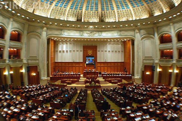 Incidente la Parlament! Jurnalistii si oamenii care vor sa asiste la votarea Motiunii, tinuti la usa de SPP