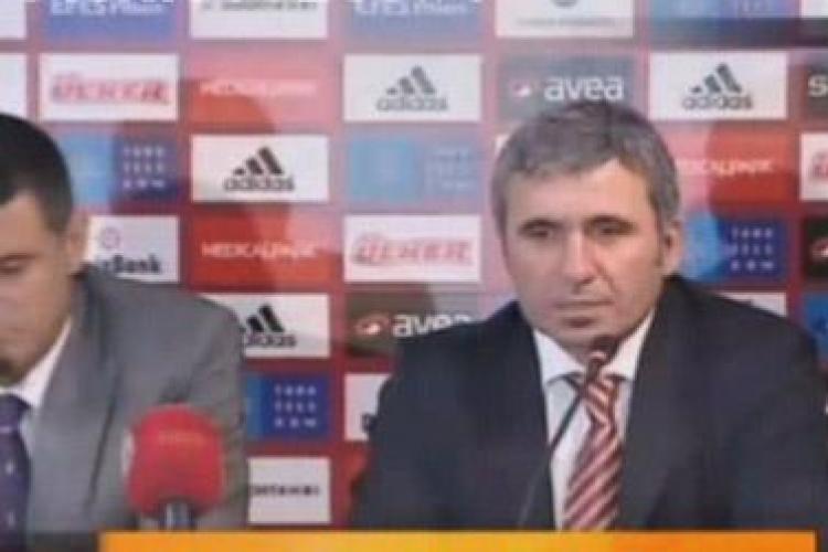 Hagi, la anuntul oficial ca antrenor Galatasaray: Am ales Galata pentru ca are un potential enorm, in ciuda dificultatilor de acum VIDEO