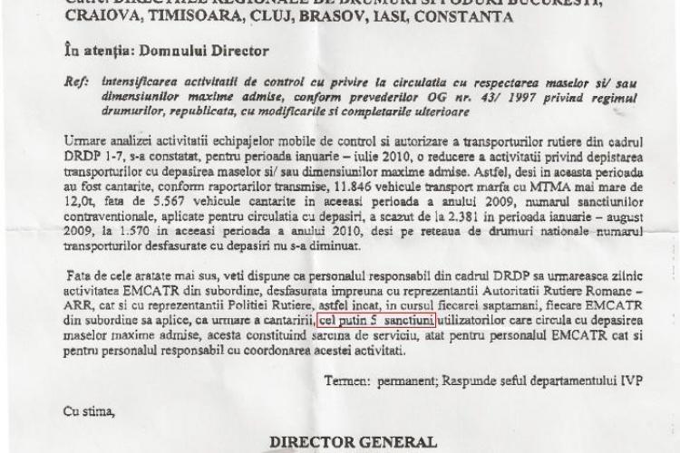 Drumarii, politistii si inspectorii ARR Cluj au norma la dat amenzi! Vezi AICI proba - FOTO