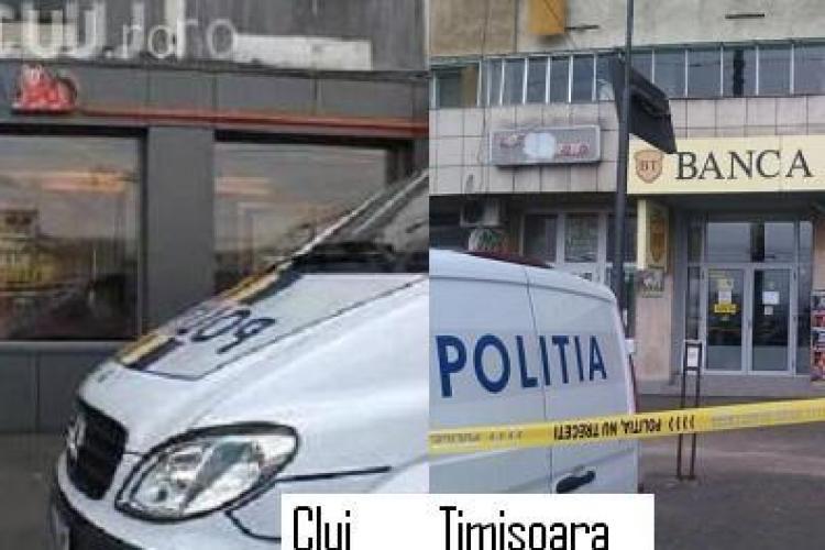 Spargerea de la Banca Transilvania Timisoara, trasa la indigo cu cea de la ING Cluj! Vezi ce asemanari sunt