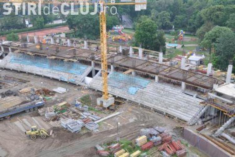 Consiliul Judetean Cluj someaza primaria sa aloce terenul pentru accesul in stadionul municipal