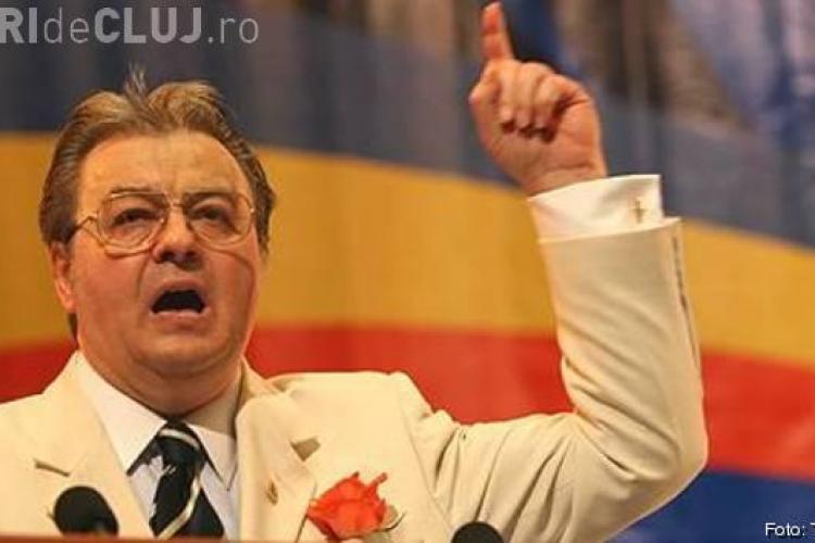 Corneliu Vadim Tudor a fost reales presedinte al PRM, iar Gheorghe Funar secretar general al partidului