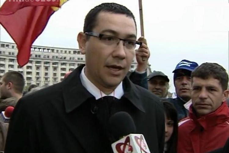 Victor Ponta: Jandarmii au munitie si stiu ca urmeaza o lovitura de stat VIDEO