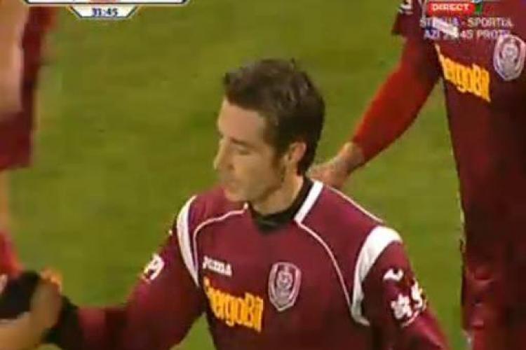 Gol Bjelanovic! CFR Cluj - FCM Targu Mures 1-0 / VIDEO