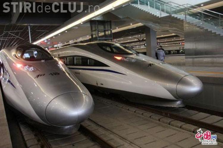 Cel mai rapid tren din lume atinge 416 km/h