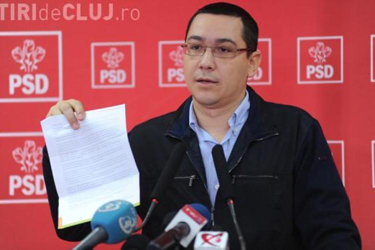 """Victor Ponta: """"Ne lipsesc patru voturi pentru a trece motiunea de cenzura"""""""