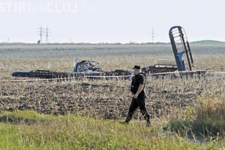Un MIG 21 Lancer s-a prabusit la Campia Turzii. Ambii piloti au murit - VIDEO
