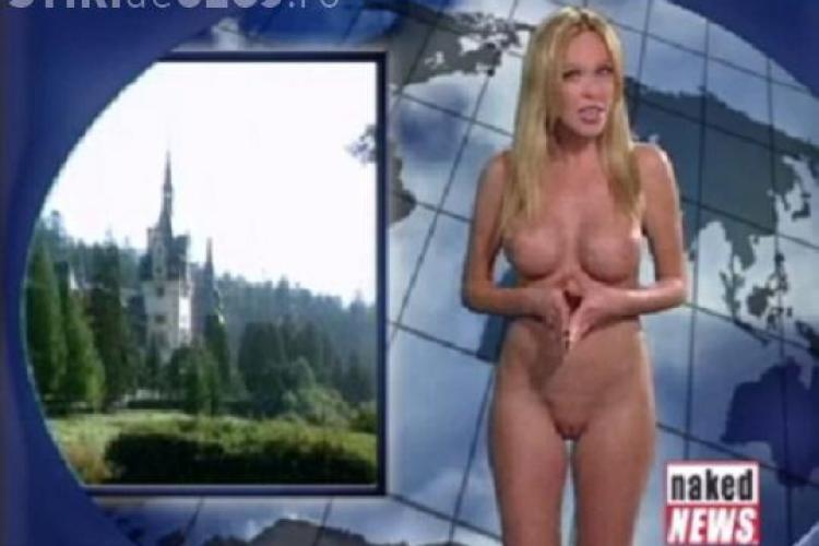 Naked News si Pornhub.com promoveaza turismul romanesc pe internet - VIDEO / Imagini interzise minorilor!