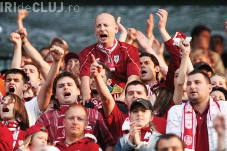 1.000 de suporteri ai CFR Cluj pe Allianz Arena!