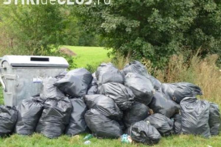 1.200 de saci de gunoi au strans voluntarii din gradinile botanice din Cluj, Bucuresti si Craiova