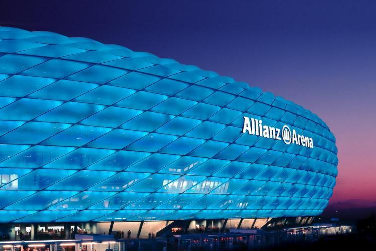 """CFR Cluj joaca pe templul fotbalului german: Allianz Arena! Stadionul a """"inghitit"""" 340 de milioane de euro - Galerie FOTO"""