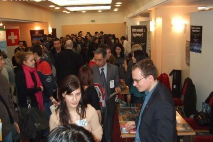 RIUF 2010 aduce la Cluj Napoca, in 2 noiembrie, oferte de studiu de la universitati din 13 tari