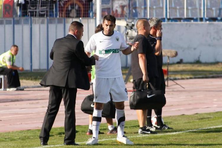 LIVE TEXT U Cluj - Victoria Branesti 2-3 - (FINAL) VEZI golurile