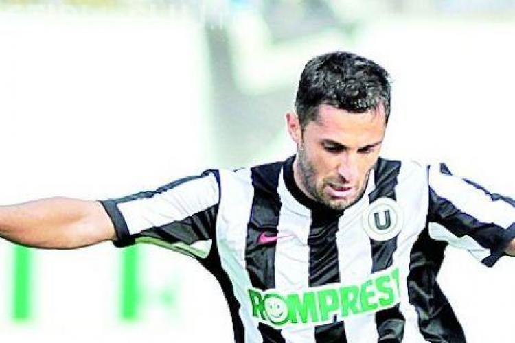 Claudiu Niculescu, cel mai bun executant de lovituri libere din Liga 1! Vezi golul inscris cu CFR Cluj