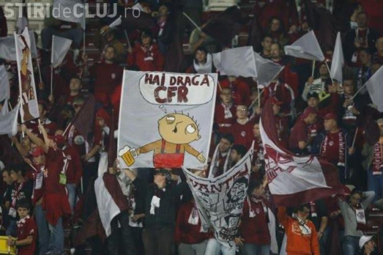 Meciul CFR Cluj - Bayern Munchen, pazit de 200 de jandarmi
