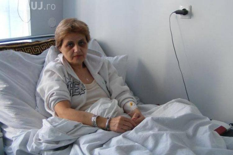 Cristiana Anghel renunta la greva foamei!