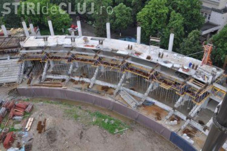 """Saloanele VIP, camerele care recunosc fata si scaunele rabatabile cresc pretul stadionului """"Cluj Arena"""" cu 14 milioane de euro"""