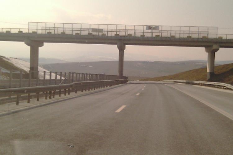 Tronsonul Turda - Campia Turzii, din autostrada Transilvania, dat in folosinta in noiembrie! Cei 52 de km din judetul Cluj au fost terminati in 6 ani
