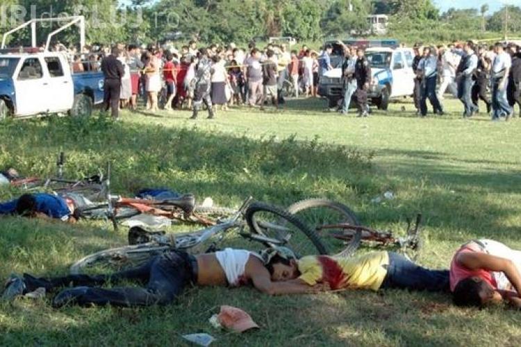14 oameni omorati in Honduras la un meci de fotbal FOTO / Imagini socante