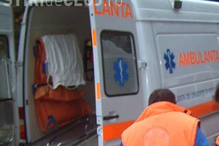 Accident pe strada Napoca! Un pieton a fost lovit de un autoturism