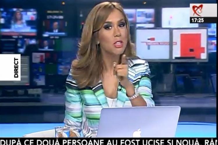 """Denise Rifai a dezvăluit ce are în CAP când face emisiunea """"ORA primarului"""". Dialogurile sunt virale"""