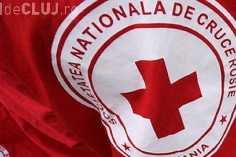 Crucea Roșie donează alimente pentru 120 de familii din județul Cluj
