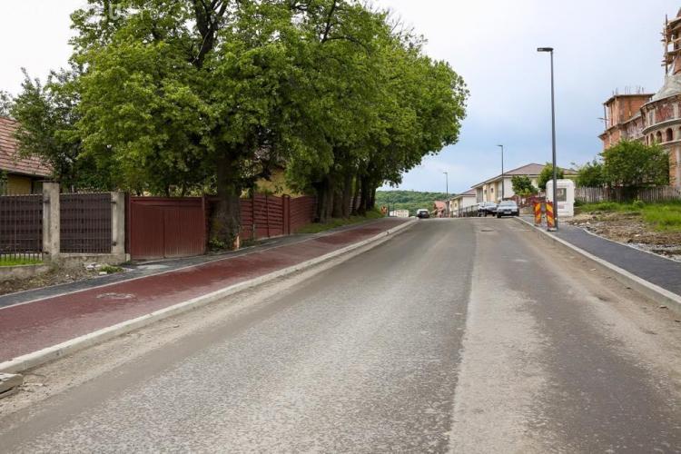 Strada Făget va fi finalizată în luna mai - FOTO
