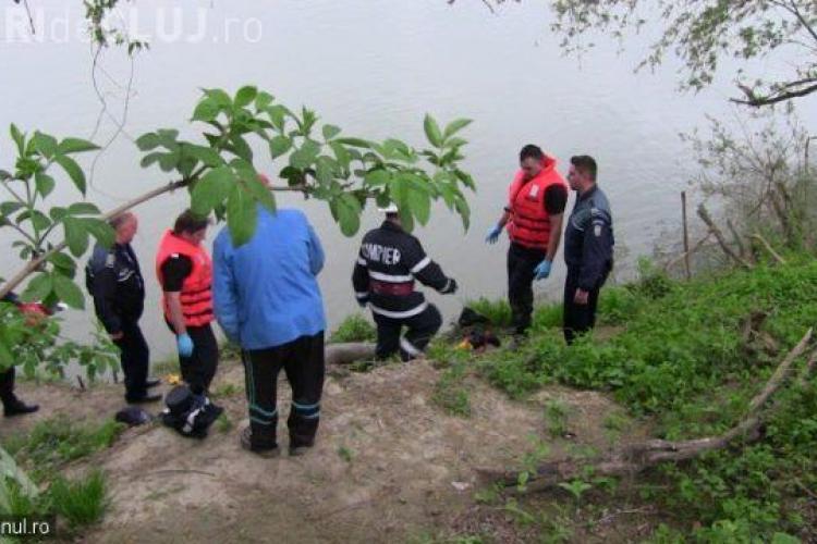 Scenă morbidă la Cluj! O mamă și-a găsit fiul, înecat, plutind cu fața în jos pe Someș VIDEO