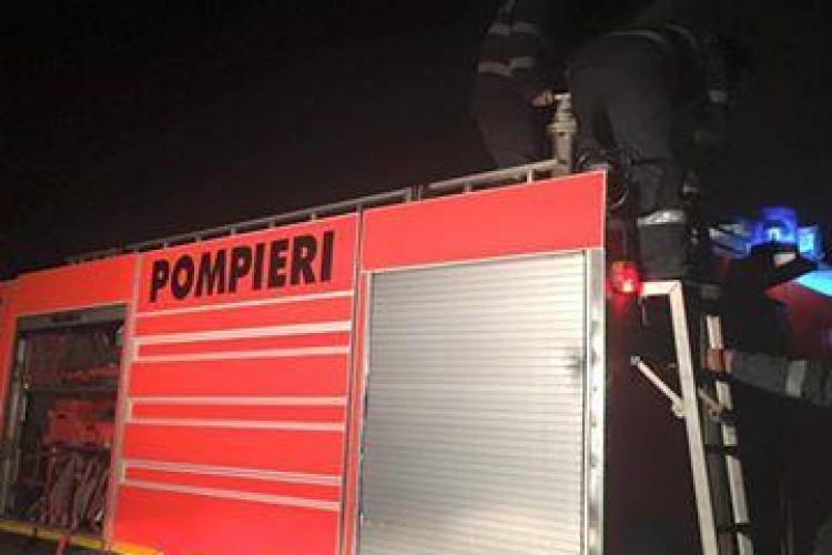 Cineva a dat foc INTENȚIONAT la rampa de la Pata Rât. Ce spune primarul Emil Boc - FOTO