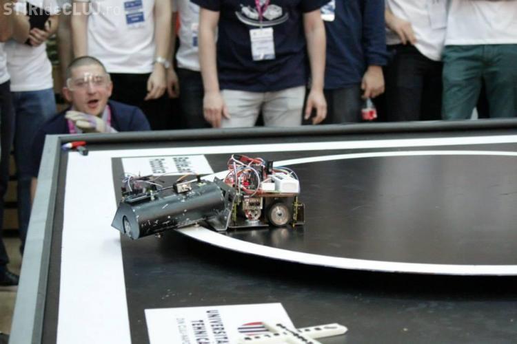 BattleLab Robotica revine la Cluj. Este cea mai mare competiție de Mega Sumo Robotic din România