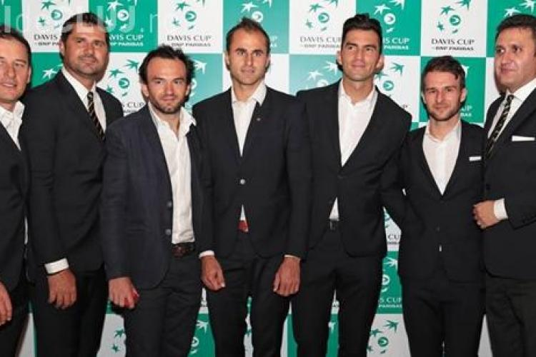 Meciul România - Spania, din Cupa Davis, se va juca la Cluj-Napoca