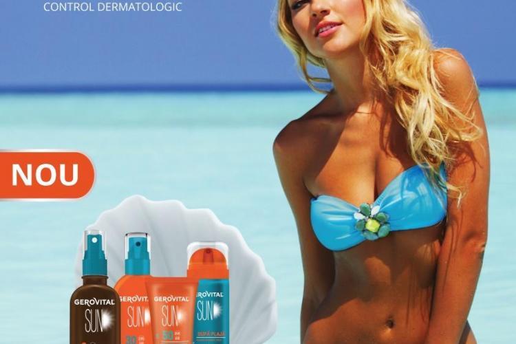 Farmec lansează noile produse Gerovital SUN, pentru o vară fără griji (P)